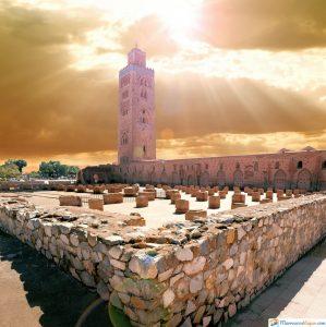Mezquita de Koutoubia marruecos