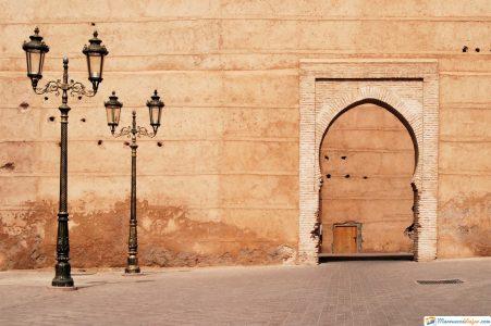 arquitectura en medina en marruecos