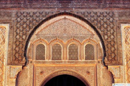 entrada Mezquita de Koutoubia