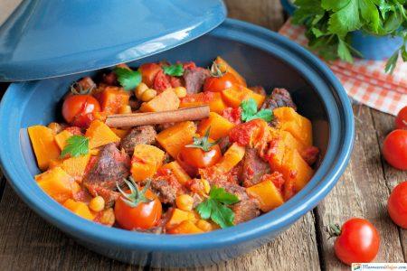 tagine o tajín comida de marruecos