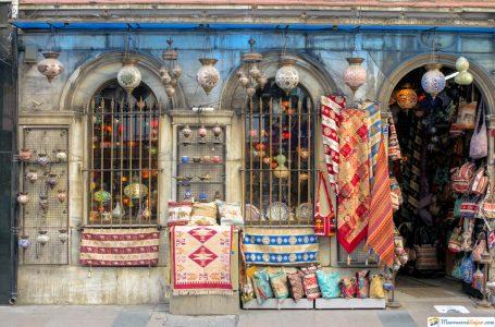 tienda de recuerdos marruecos